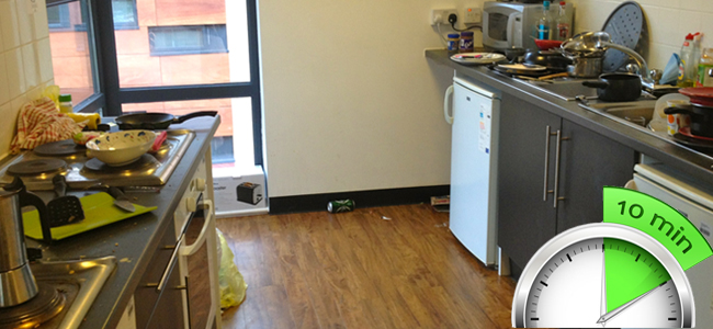 10 Minute Kitchen Cleanup