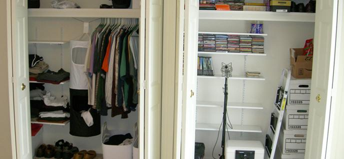 closet quick find