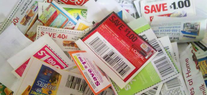 coupon pile