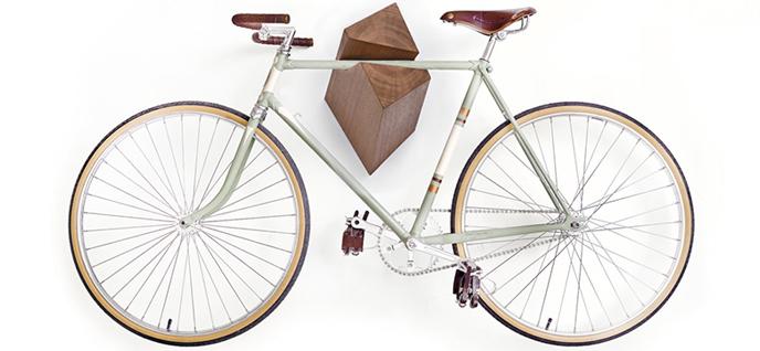 fancy bike display