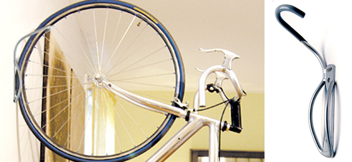 Hooks Can Easily Your Bike In An Upright Position On One Of Walls Putting It High Up Allows You To Hang The Wheels