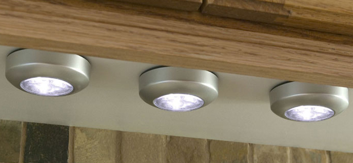 overhead kitchen lights