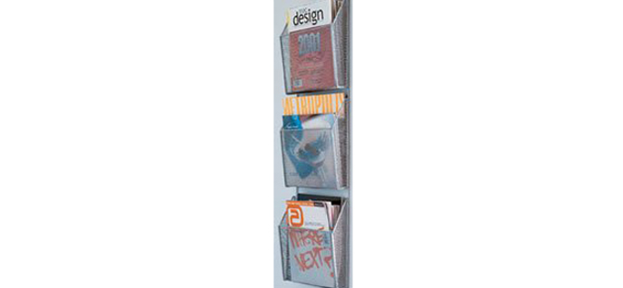 mesh wall rack