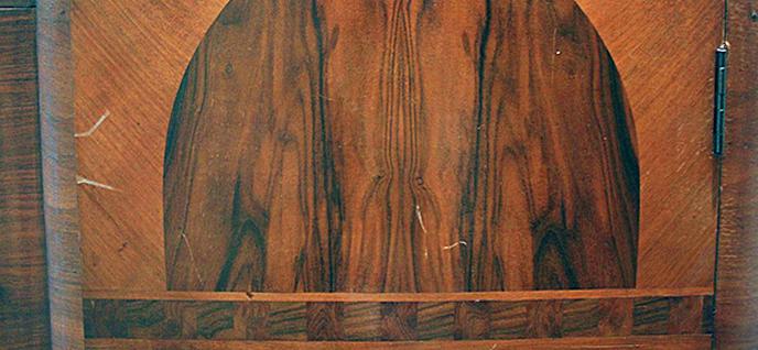 clean varnished wood