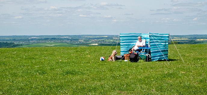 countryside picnic