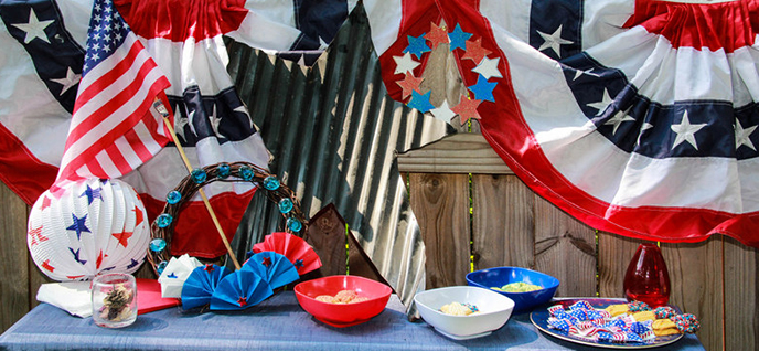 labor day decorations