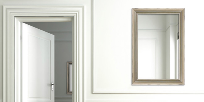 Install Your Large Mirror - Groomed Home