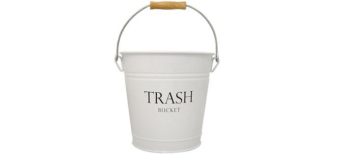 indesign pail wastecan