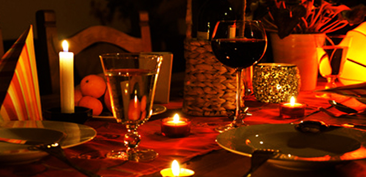 3 Basics For A Perfect Candle Light Dinner Groomed Home