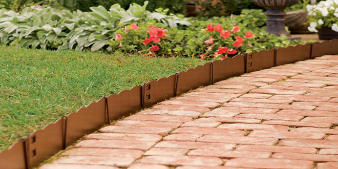 Install An Outdoor Edging