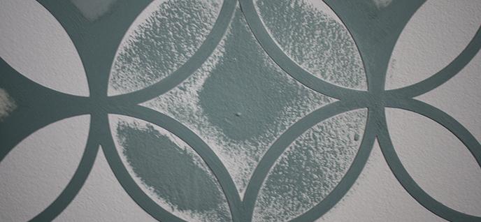 stencil effect