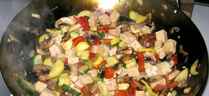 wok cook