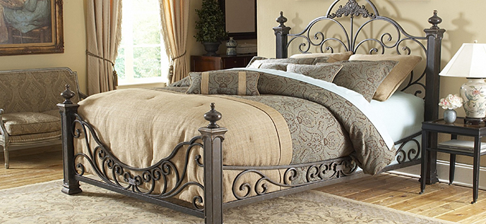 cushy bed baroque bed - Baroque Home Decor