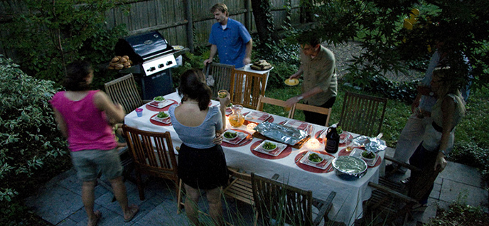 barbecue atmosphere