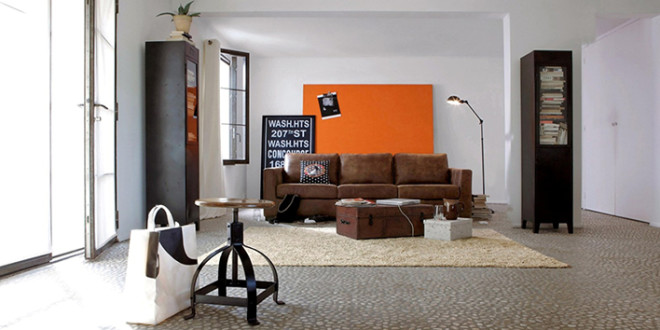 industrial style living room furniture. Create An Industrial-Style Living Room Industrial Style Furniture