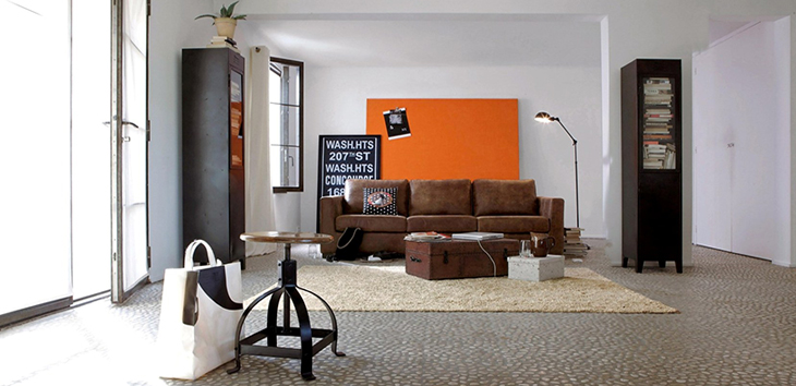 Create An Industrial Style Living Room Groomed Home