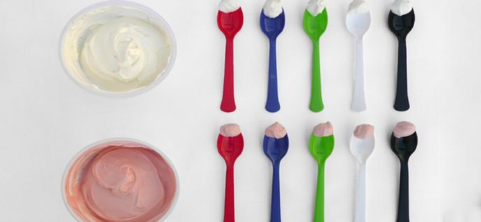 colorful utensils