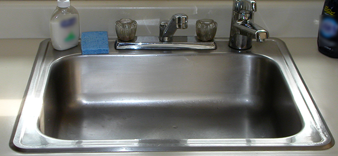 kitchen sink polish clean your kitchen sink groomed home 2832