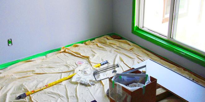 how to get grease stains out of painted walls