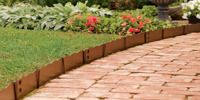 Install An Outdoor Edging